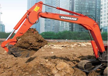 斗山DH55GOLD挖掘机外观图2