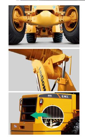 柳工CLG855轮式装载机外观图4
