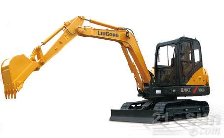 柳工906D挖掘机外观图2