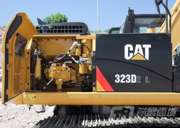 卡特彼勒323D2 L液压挖掘机外观图4