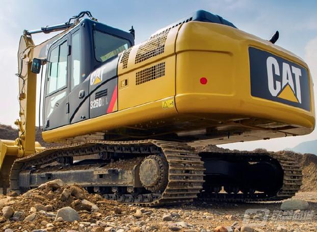卡特彼勒326D2挖掘机外观图4