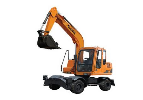 詹阳动力JYL6085轮胎式挖掘机