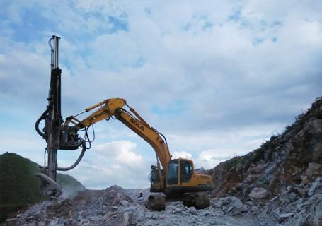 恒日科技90D挖机钻(全液压型)外观图5