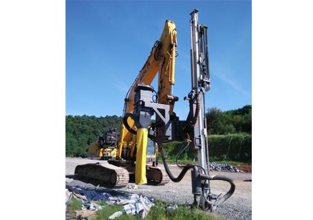 恒日科技90D挖机钻(全液压型)外观图4