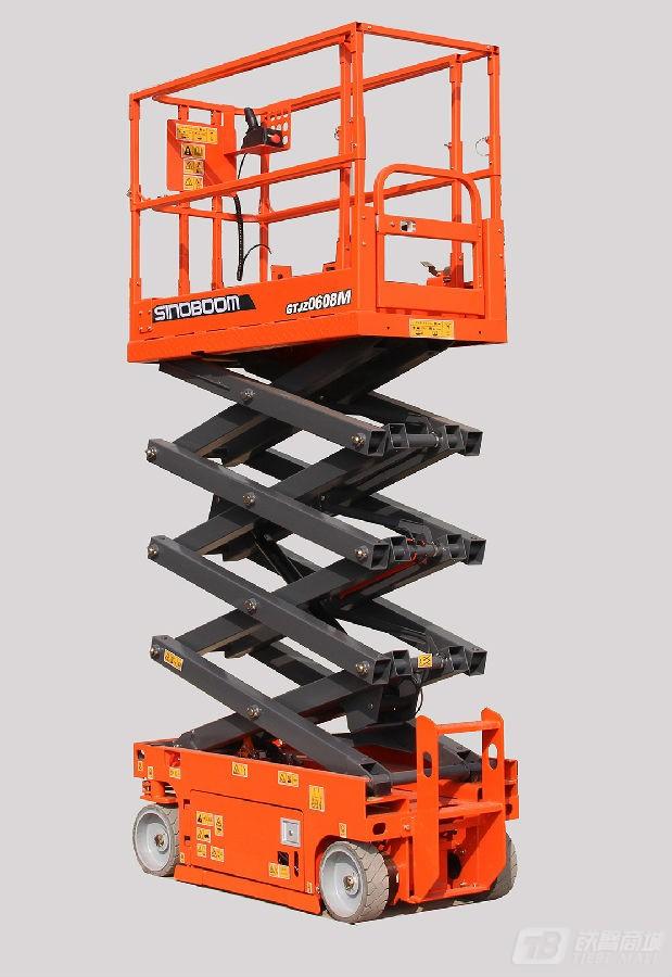 星邦重工GTJZ0608M剪叉式高空作业平台外观图1