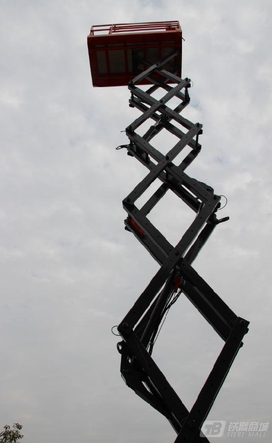 星邦重工GTJZ1218D剪叉式高空作业平台外观图2
