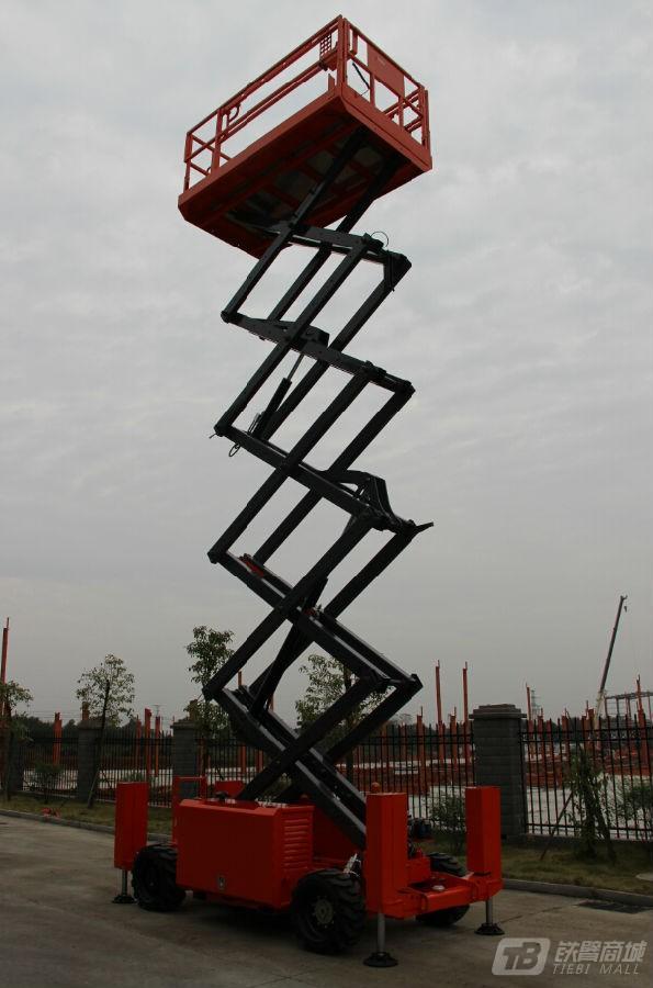 星邦重工GTJZ1218D剪叉式高空作业平台外观图3