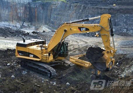卡特彼勒374DL挖掘机外观图1