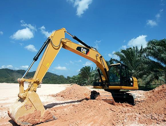 卡特彼勒320D2 GC挖掘机外观图3