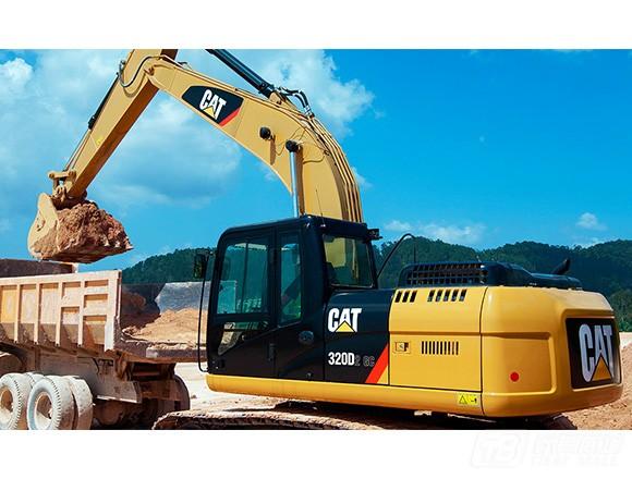 卡特彼勒320D2 GC挖掘机外观图4