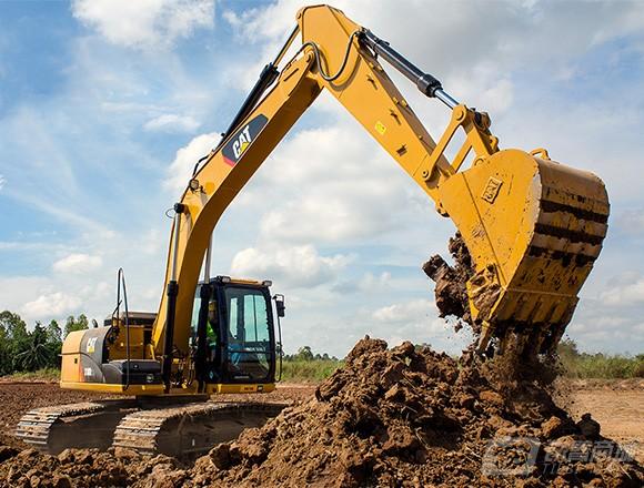 卡特彼勒318D2L挖掘机外观图3
