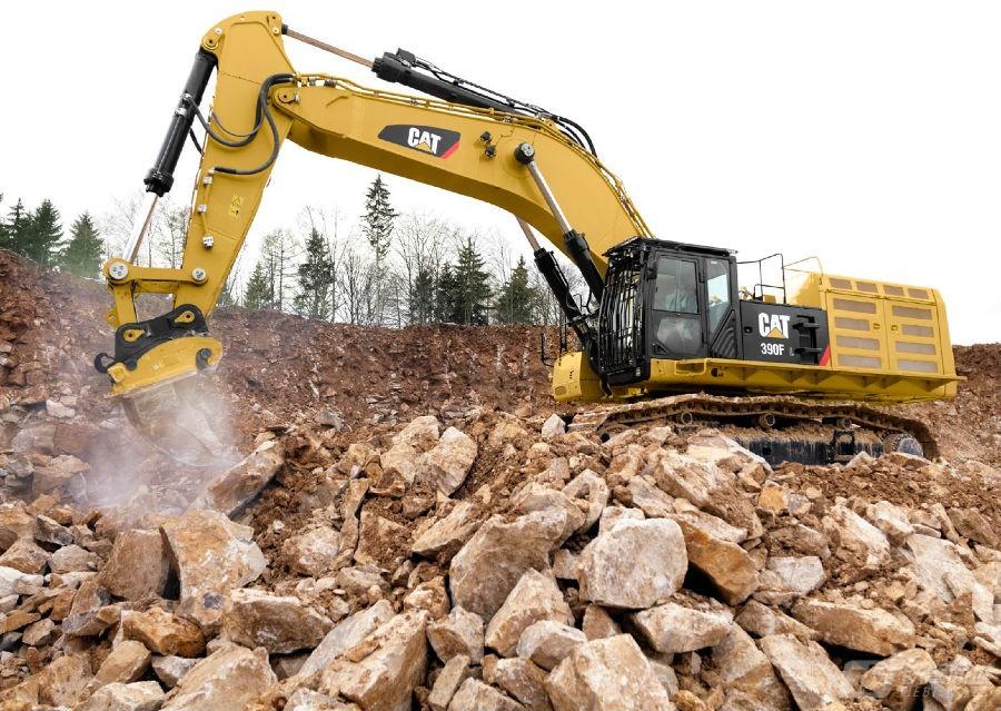 卡特彼勒390F L挖掘机外观图1