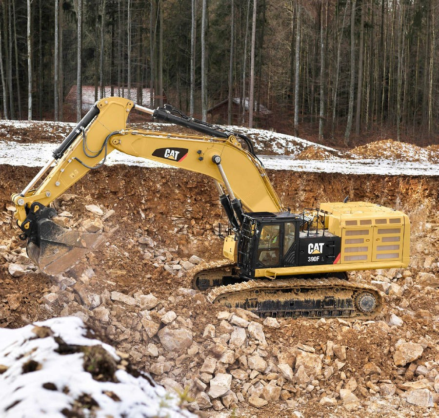 卡特彼勒390F L液压挖掘机外观图7