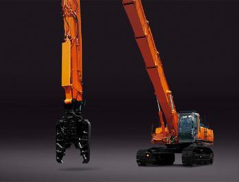 原装日立ZX450LC(HL)-3高空拆除机特种挖掘机