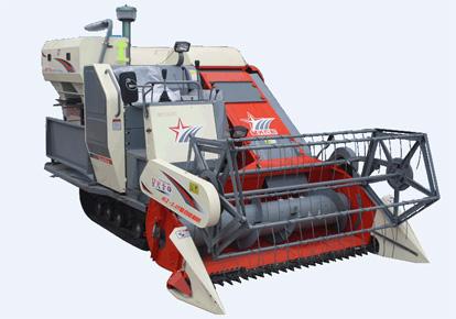 星光农机4LZ-2.0T全喂入自走履带式谷物联合收割机