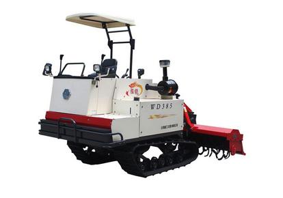 沃得385履带式旋耕机