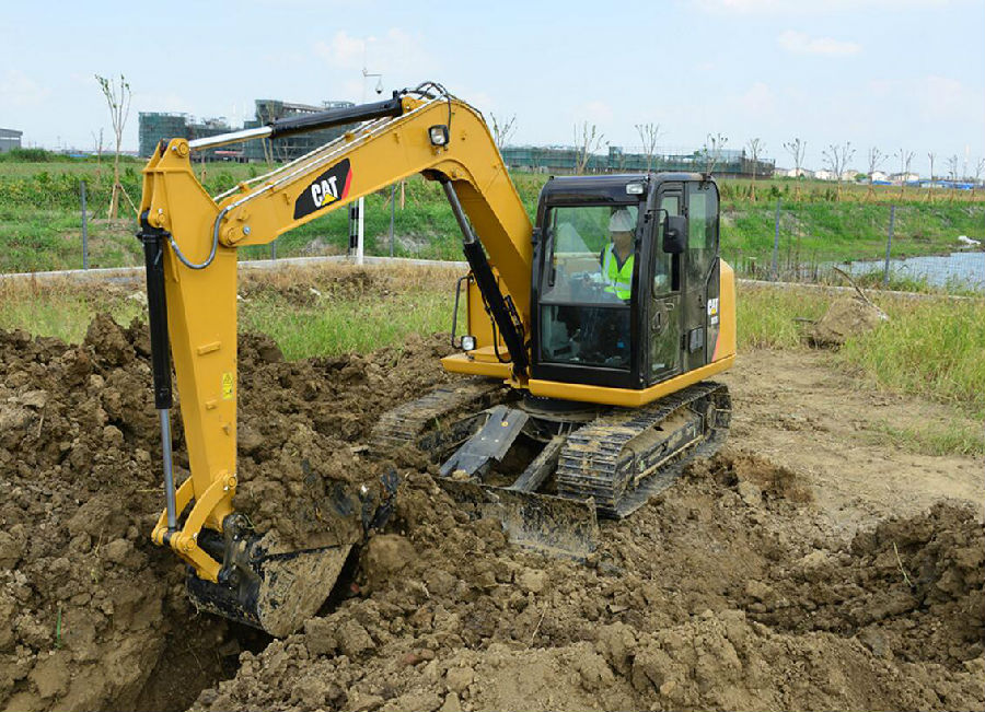 卡特彼勒307E2挖掘机外观图1