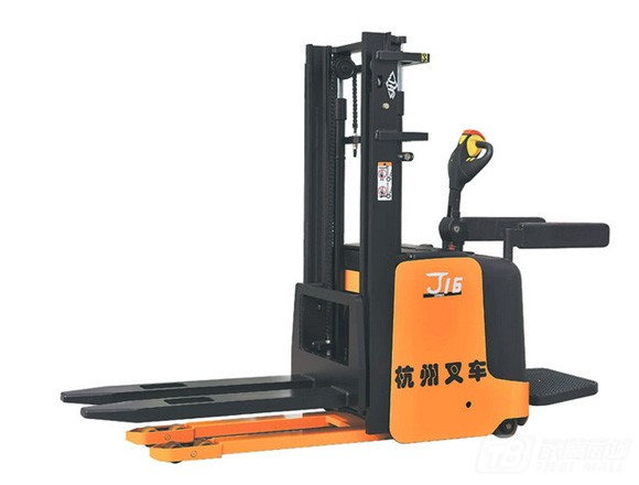 杭叉J系列1-2吨电动堆垛车(站驾)电动叉车