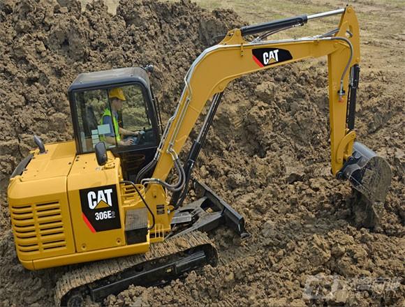 卡特彼勒306E2挖掘机外观图5