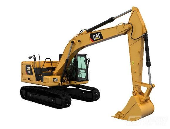 卡特彼勒新一代CAT® 320液压挖掘机外观图3