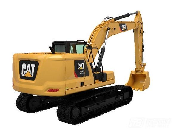 卡特彼勒Cat® 320液压挖掘机外观图4