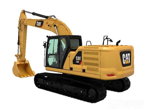 卡特彼勒新一代CAT® 320液压挖掘机外观图6