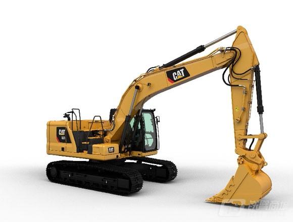 卡特彼勒新一代CAT® 323液压挖掘机外观图5