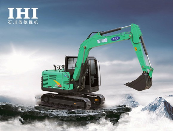 石川岛100NS挖掘机外观图1