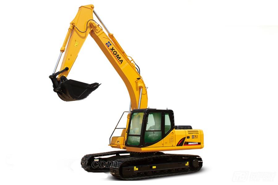 厦工XG822FJ履带挖掘机外观图1