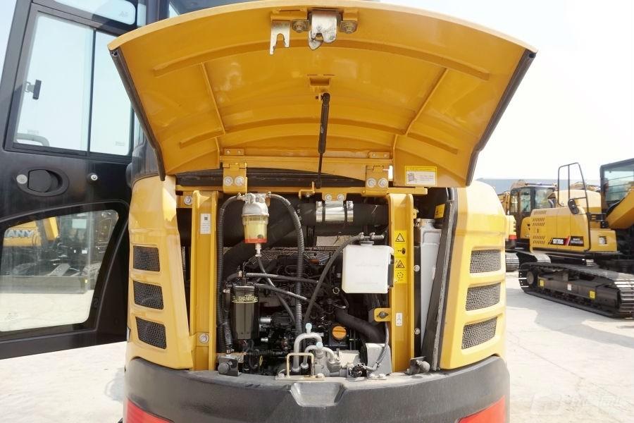 三一SY35U微型液压挖掘机外观图7