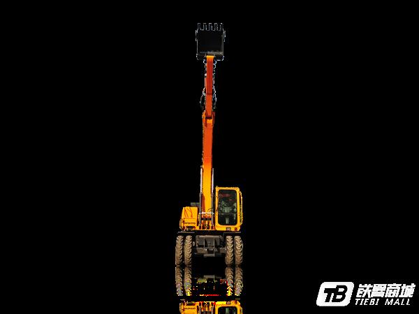 詹阳重工JYL615E-N轮胎式挖掘机外观图4