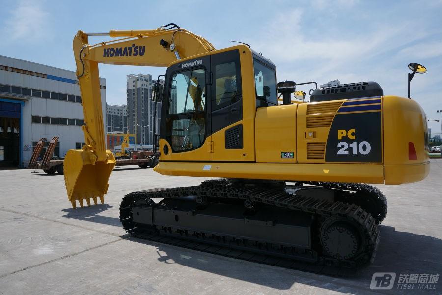 小松PC210-8M0液压挖掘机外观图5