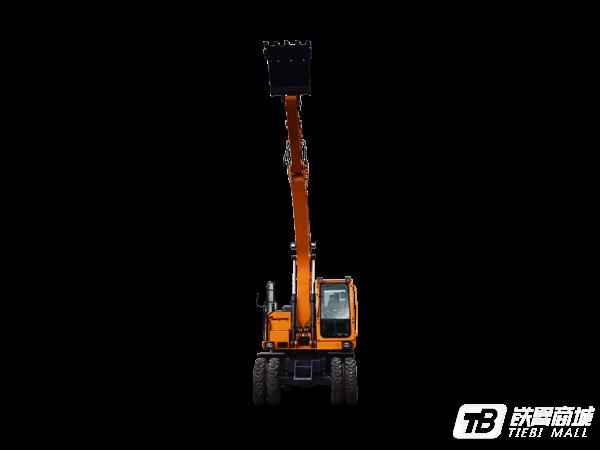 詹阳重工JYL615F轮胎式挖掘机外观图1