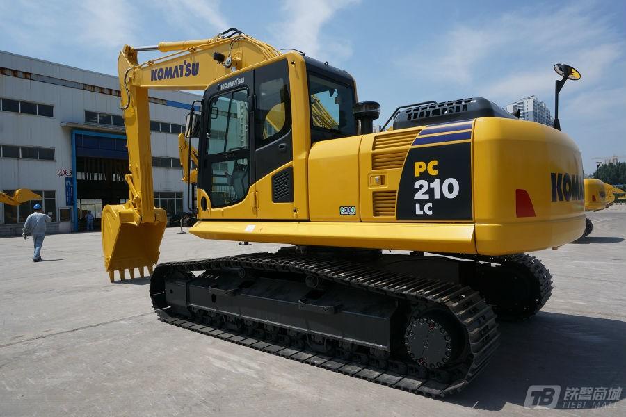 小松PC210LC-8M0液压挖掘机外观图7