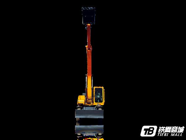詹阳重工JYL619E轮胎式挖掘机外观图1