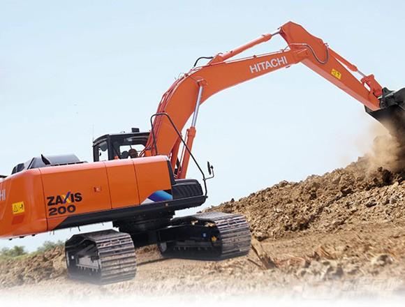 日立ZX200-5A中型挖掘机外观图2