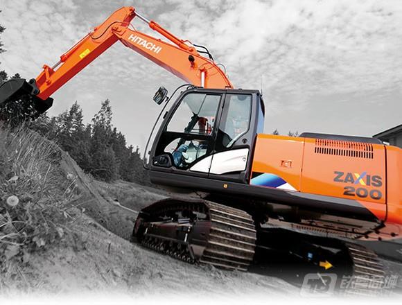 日立ZX200-5A中型挖掘机外观图1