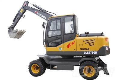 沃尔华DLS875-9M轮式挖掘机外观图2