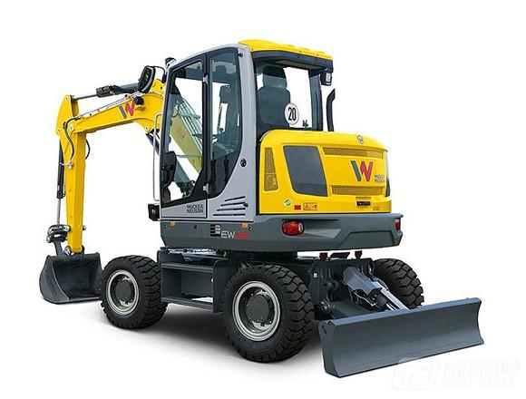 威克诺森EW65轮式挖掘机外观图1