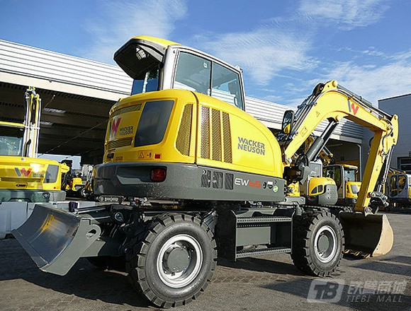 威克诺森EW65轮式挖掘机外观图2