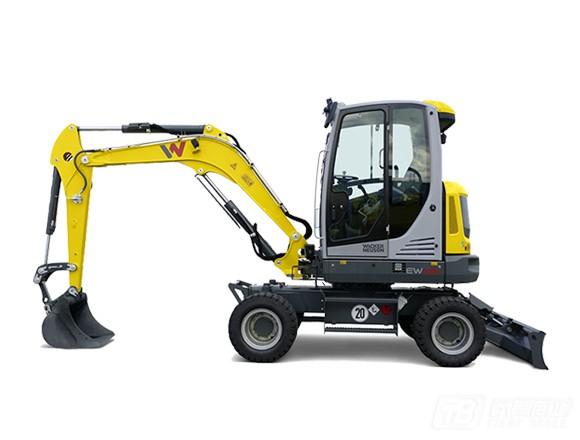 威克诺森EW65轮式挖掘机外观图3