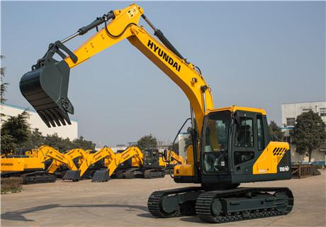 现代R110VS小型挖掘机外观图7