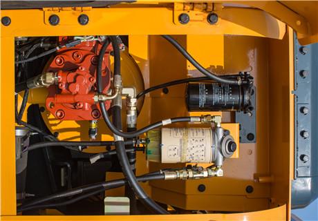 现代R110VS小型挖掘机细节图1