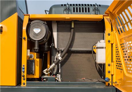 现代R130VS小型挖掘机细节图1
