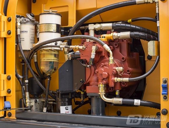 现代R210WVS轮式挖掘机细节图1