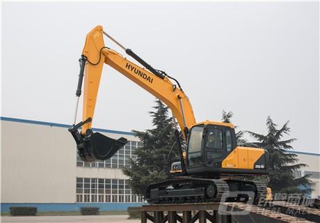 现代R215VS履带挖掘机外观图3