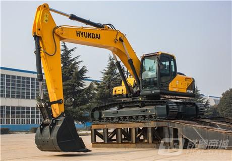 现代R275LVS中大型挖掘机外观图3