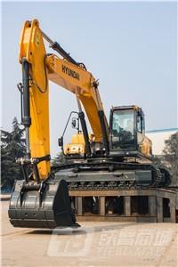 现代R275LVS中大型挖掘机外观图4