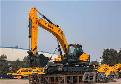 现代R305LVS中大型挖掘机外观图5