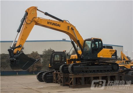 现代R350LC-9V挖掘机外观图6